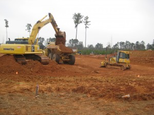 Grading the Puryear Site